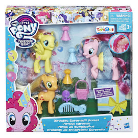 My Little Pony Birthday Surprise Ponies Fluttershy Brushable Pony