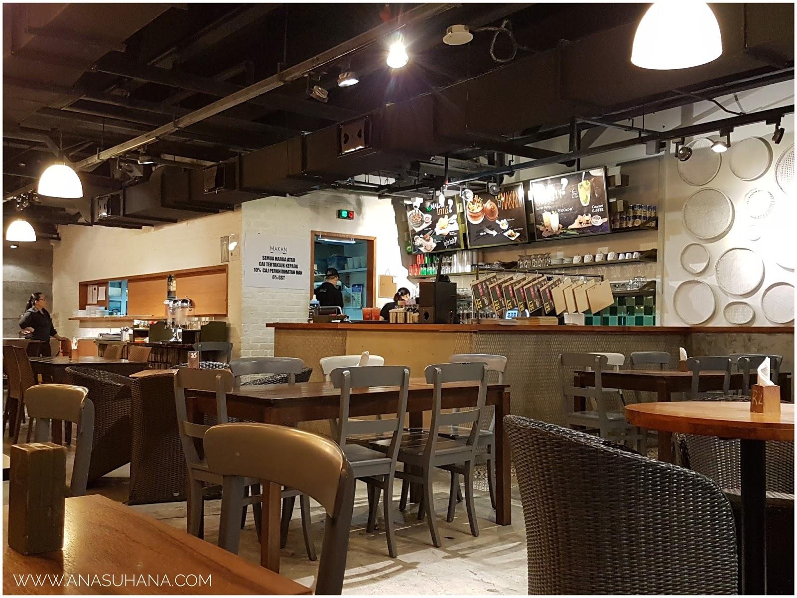 Makan-makan di Makan Culture, Aeon Big Wangsa Maju
