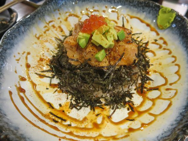Spicy Salmon Aburi Don