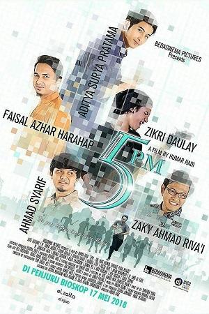 Jadwal 5 PM (5 PENJURU MASJID) di Bioskop