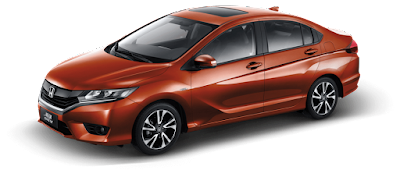 All New 2017 Honda City facelift Version orange wallpaper