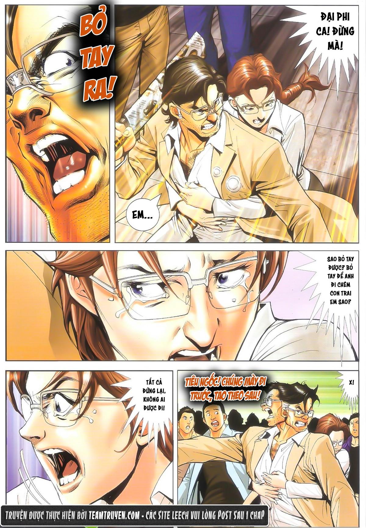 Người Trong Giang Hồ chapter 1604: hồng hưng vs trường lạc trang 8