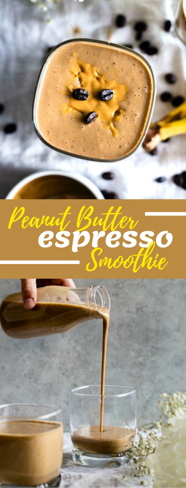 Peanut Butter Espresso Smoothie #drink #hotdrink