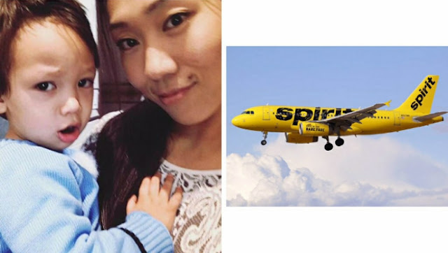 Mother Kicked Off Spirit Airlines Flight