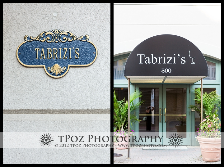 Tabrizi's wedding reception