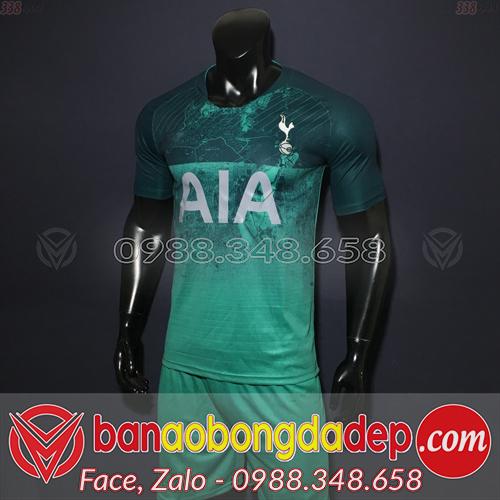 Áo Câu Lạc Bộ Tottenham 2019 Sân Khách Màu Xanh
