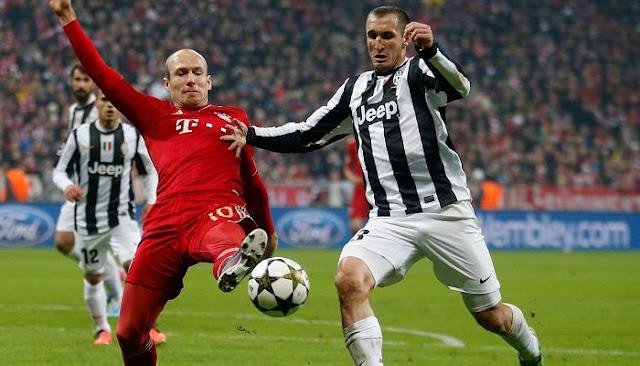 Juventus vs Bayern Munich en vivo