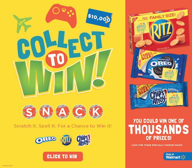 Mom Knows Best : Snack Collect And Win With This Instant Win