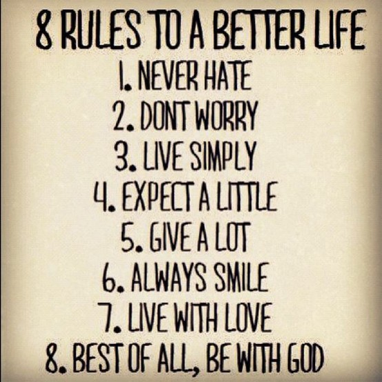 7 Rules Of Life Quote: Scrappin' Becky B.: Quote Sunday