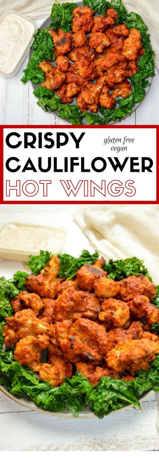 Crispy Cauliflower Hot Wings