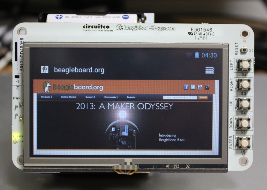 Building a wireless Android device using BeagleBone Black