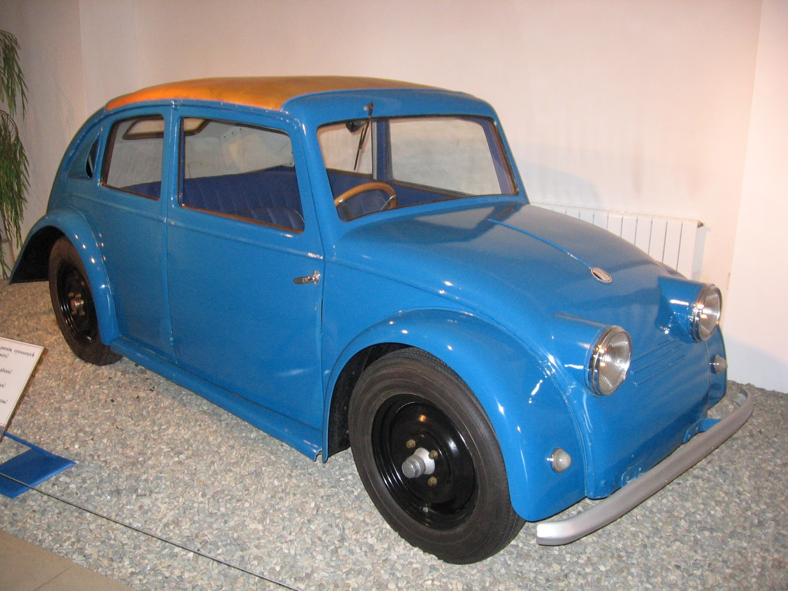 Have A Close Look At The Little Blue Car Pictured Above It Looks Bit Like One Of Those Cast Scale Models Original Vw Beetle Doesn T