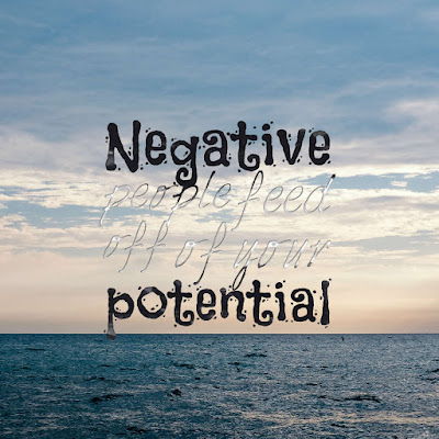 Many Motivational Quotes. Daily Thought: Discard All Aspects of Negativity