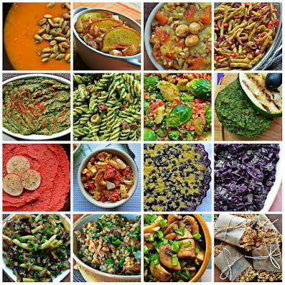 Wegetariańskie przysmaki - 25 smacznych przepisów bez mięsa