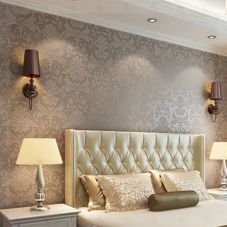 Construindo minha casa clean papel de parede ou tecido for Papel salon