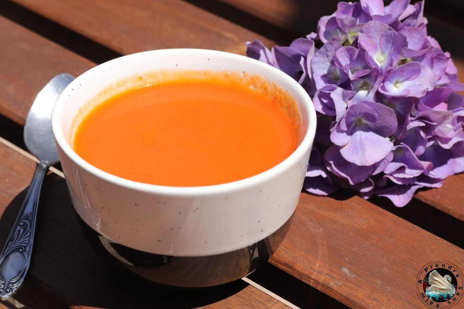 Gaspacho tomates poivrons