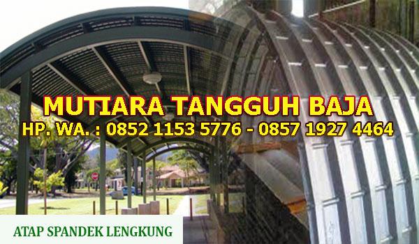 Distributor Atap Spandek Lengkung Bogor dan Sekitarnya