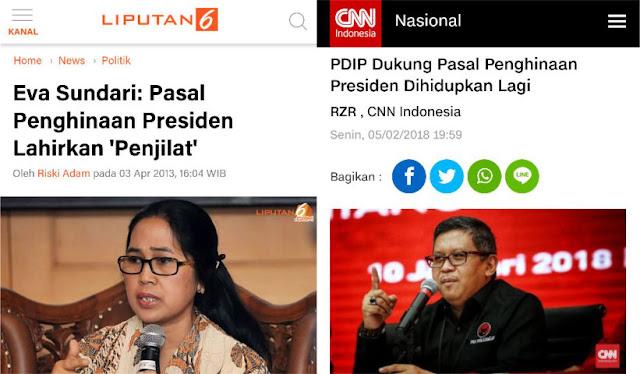 PDIP Dulu Tolak Pasal Penghinaan Presiden, Sekarang Dukung