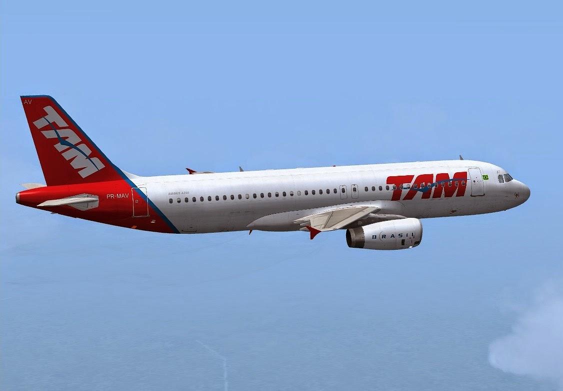 avião TAM