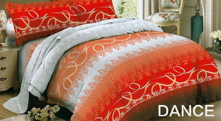 Sprei Red Rose Dance