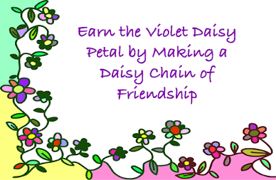 Earn the Violet Daisy Petal Be A Sister to Every Girl Scout