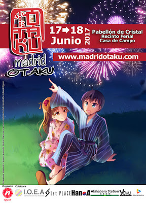Cartel Madrid Otaku 2017