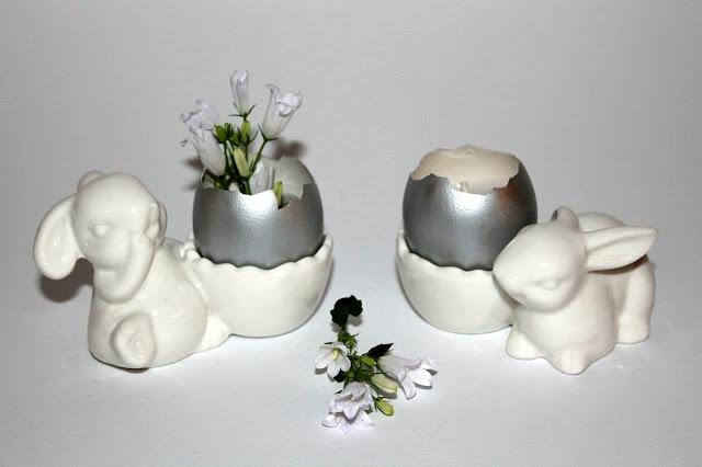 Kerzeneier, Basteln, Ostern, DIY, Osterdeko