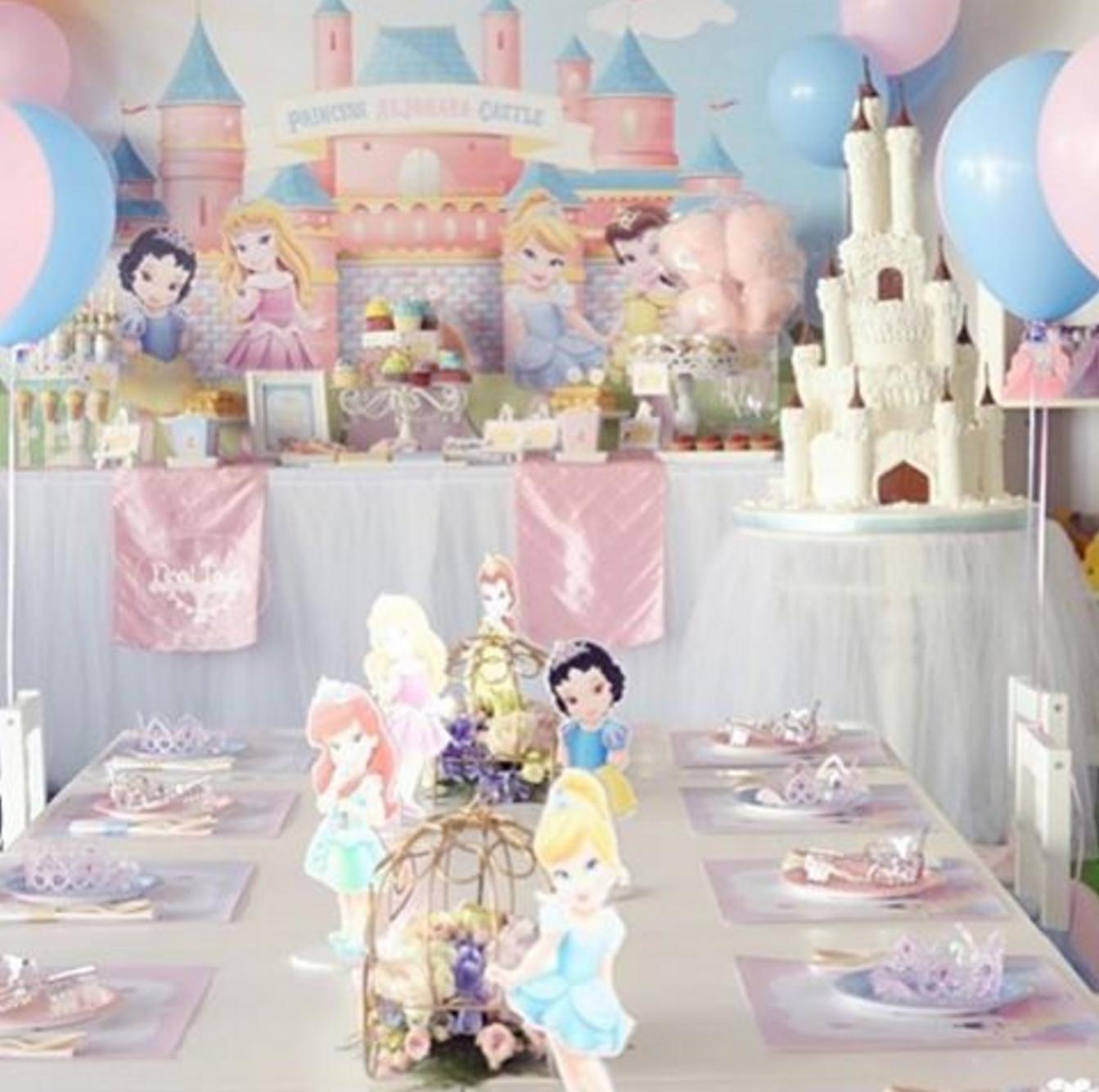 Fiesta tem tica de princesas disney - Decoracion fiesta princesas disney ...