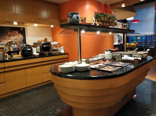 Buffet de Desayunos del Best Western Metropole Monopole