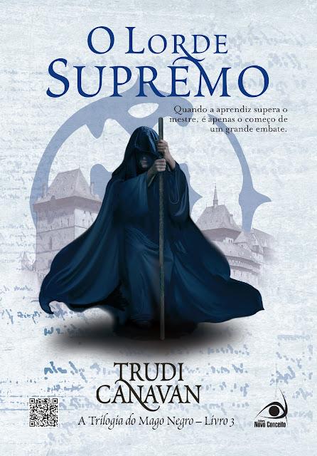 News: Capa de O Lorde Supremo, de Trudi Canavan 7