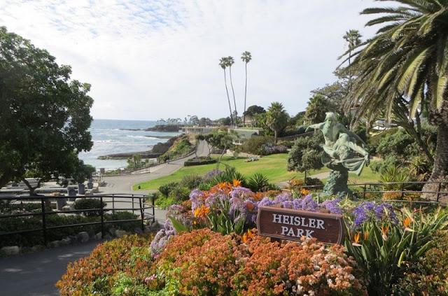 Passeio pelo Heisler Park em Laguna Beach