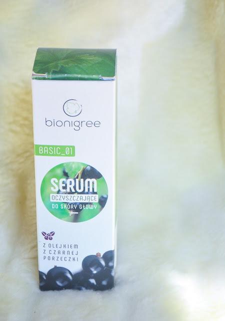 bionigree serum oczyszczające do skóry głowy