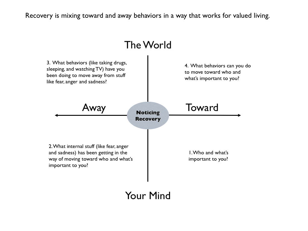 The Act Matrix By Kevin Polk Noticing Recovery