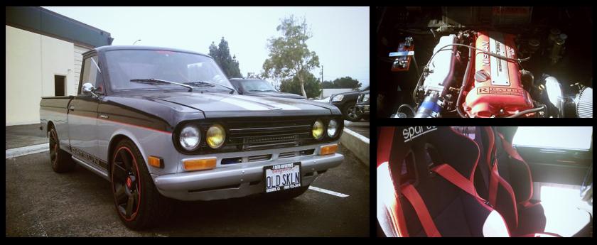 CARTICULAR: Craigslist Find: '72 Datsun 521 SR20DET Swap