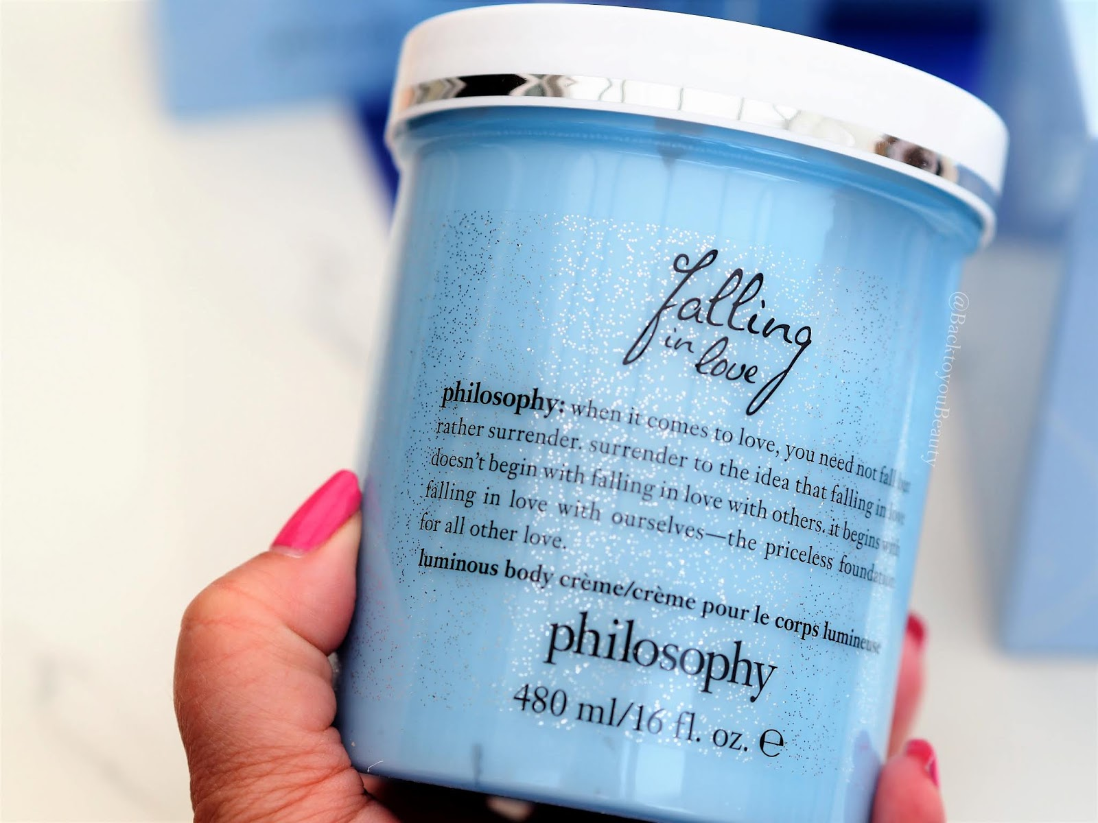 Philosophy Falling in love luminous body cream