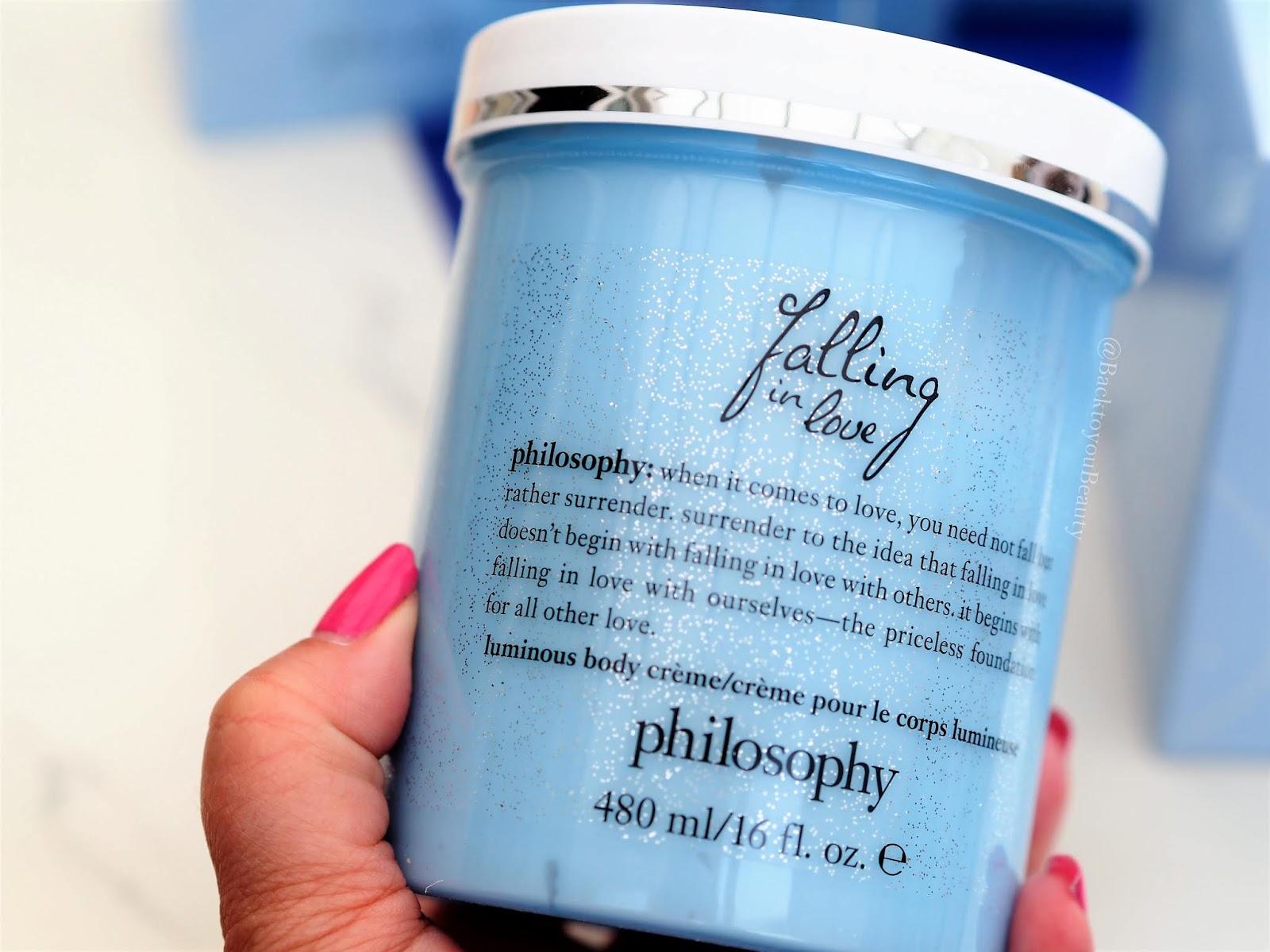 Philosophy Falling in love luminous body cream