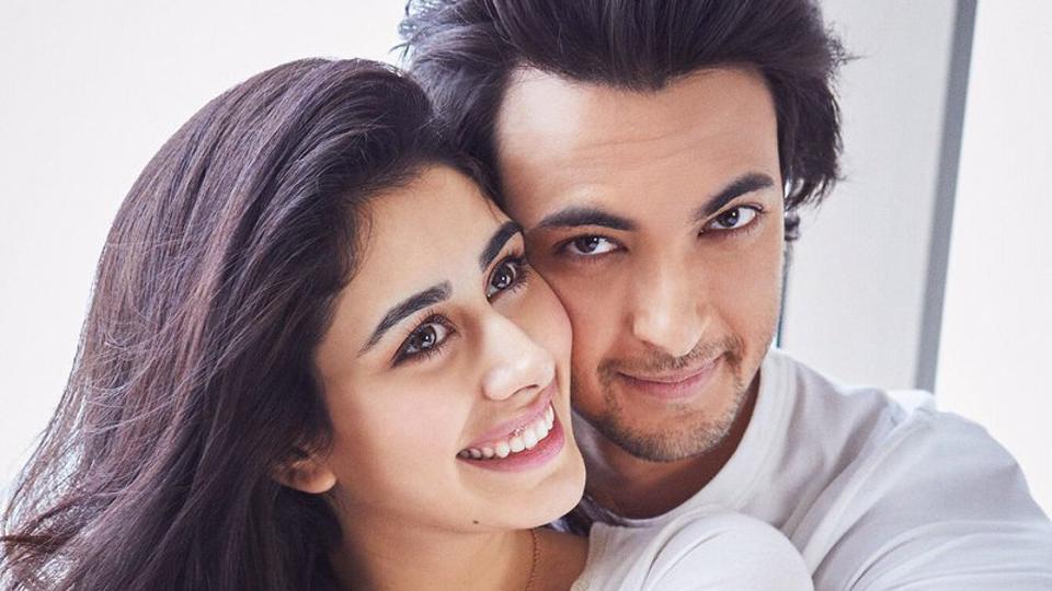 Ayush Sharma and Warina Hussain in Loveratri.