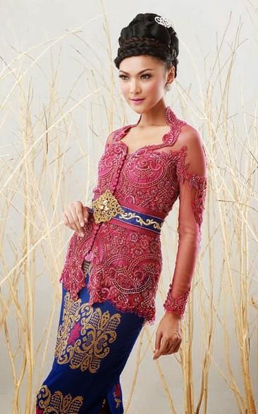 25 Koleksi Baju Kebaya Batik  Modern Wanita Untuk  Pesta