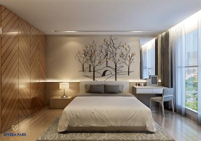 Phòng ngủ chung cư Rivera