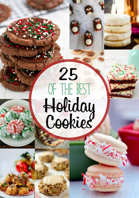 Get a jump start on those holiday baking plans now with this collection of 25 of the Best Holiday Cookies.