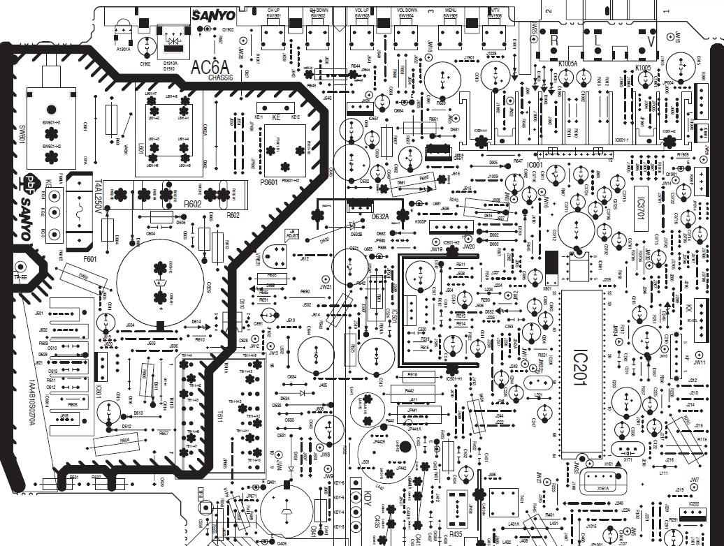 Sanyo Tv Wiring Diagram   Wiring Diagrams