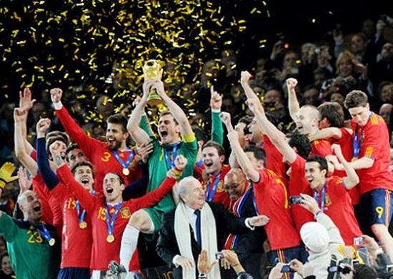 Tây Ban Nha, nhà đương kim vô địch World Cup 2010