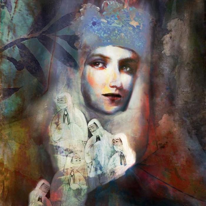 Женские лица. Suhair Sibai 3