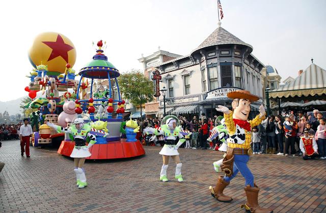 Atrações do Disney Adventure Park