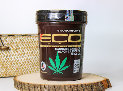 Eco Styler's NEW Cannabis Oil CBD Gel and Leave-In Conditioner Review