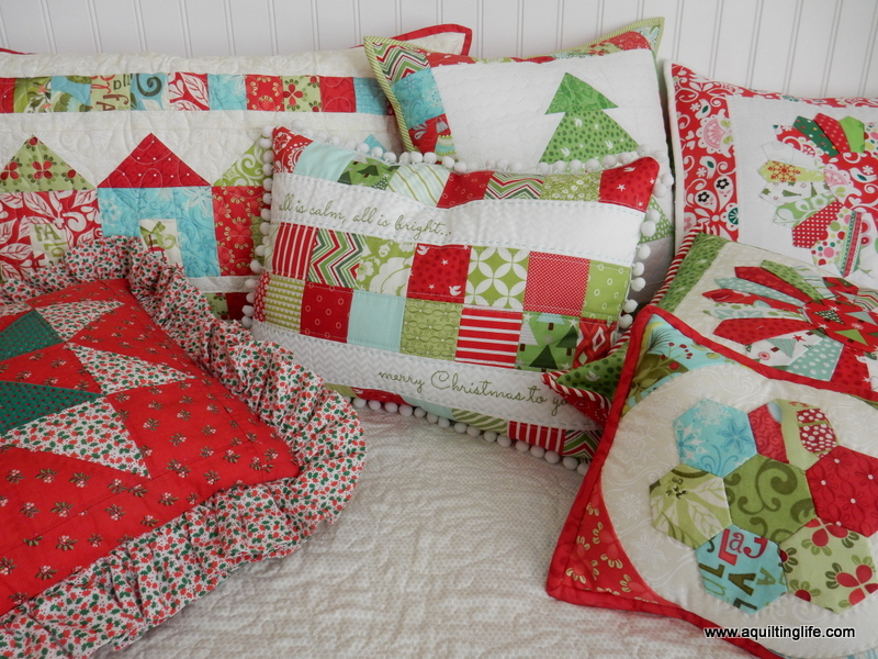 Nice Do you have a favorite design you like to use for holiday pillows Please share in the ments section