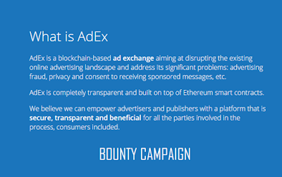 Cara Mendapatkan Bitcoin Gratis dari Program Bounty Adex Network
