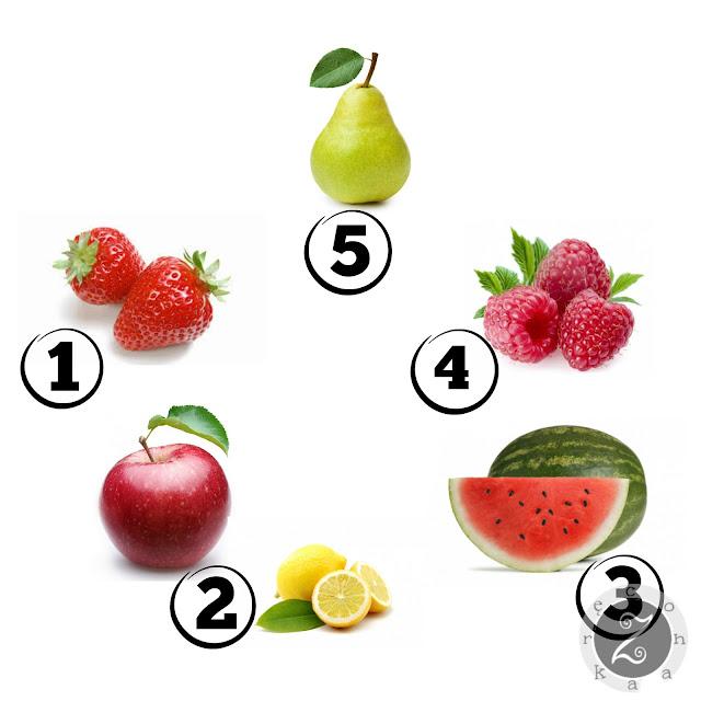 pomysły na maski owocowe DIY