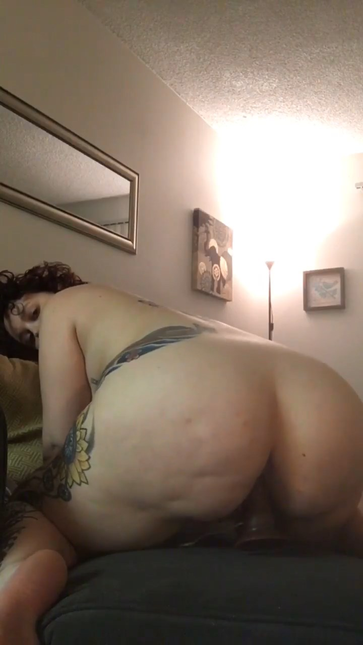 Love It!!!!! Big ass on dildo for sharing
