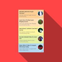 Cara Membuat Widget Recent Post Multi Color Keren di Blogger